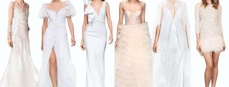 Осень 2019: главные тренды в свадебных платьях