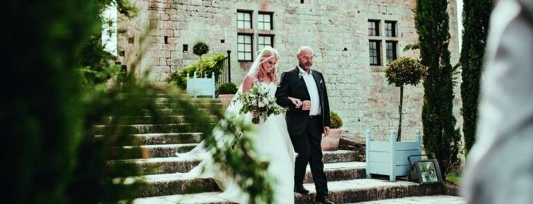Свадьба в замке Chateau de Cas