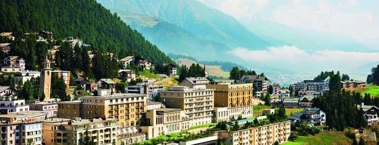 Альпийская сказка в Kulm Hotel St. Moritz