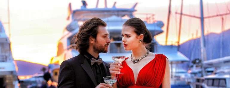 День Св.Валентина в отеле Regent Porto Montenegro
