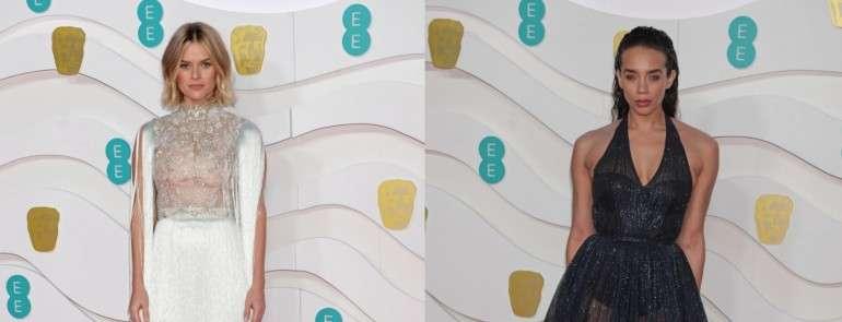 Звезды в нарядах Ralph & Russo на премии BAFTA