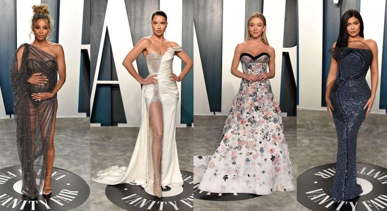 Звезды в нарядах Ralph & Russo на вечеринке Vanity Fair Oscar 2020