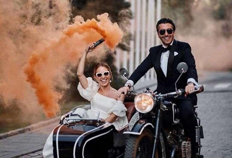 Радужный бум на вашей свадьбе