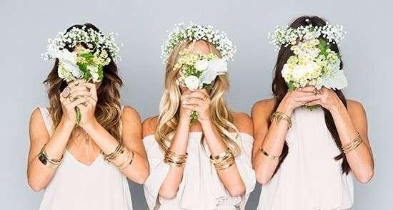 6 образов для подружек невесты